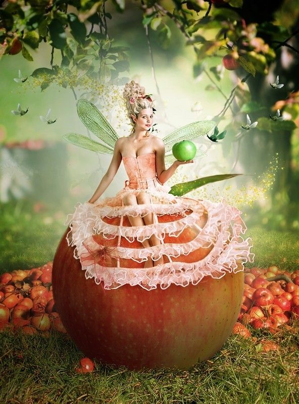 Fée de la pomme