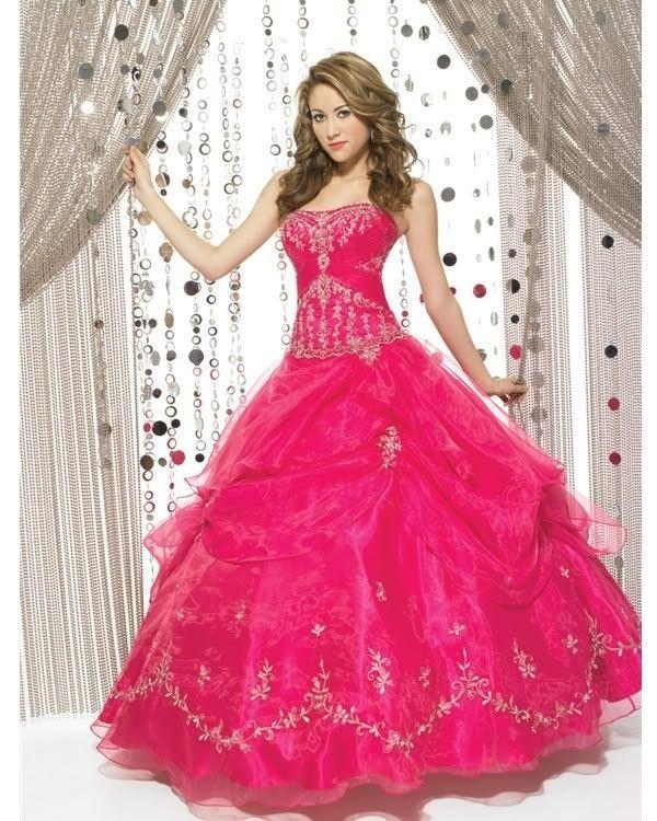 ... par choupie33 Tags : robe princesse robe de mariée fushia pink rose