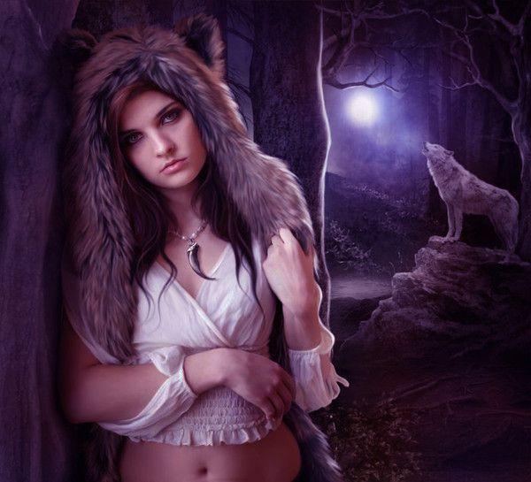 La femme au loup