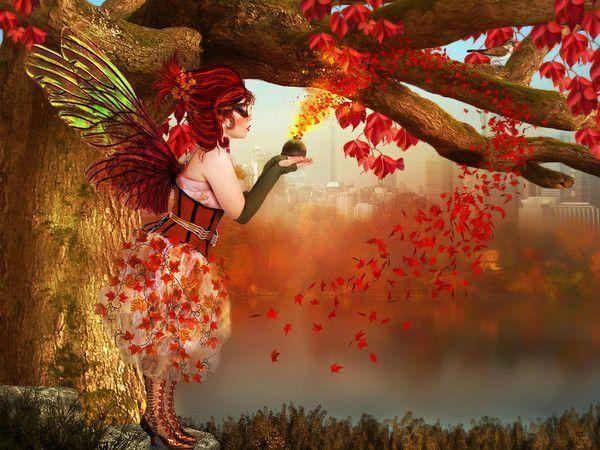 Résultat d'images pour fée automne