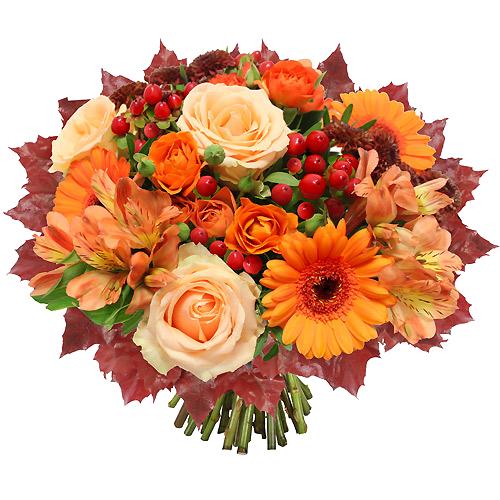 Tube bouquet automne