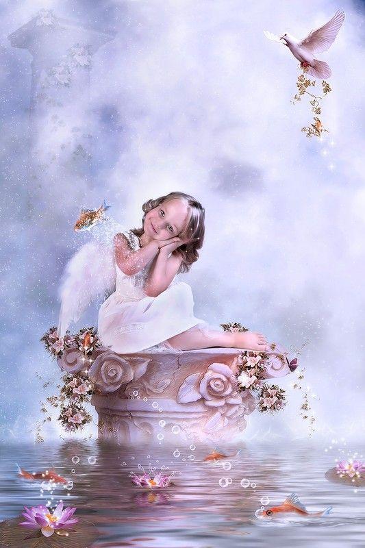 Petit ange au paradis