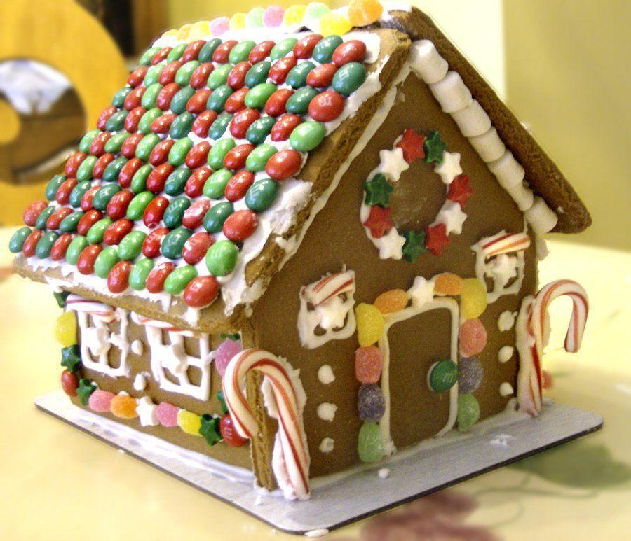 Gateaux for Maison en biscuit de noel