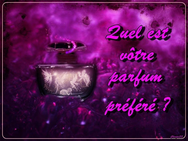Votre Quel Est Parfum Quel Préferé wm8Nn0