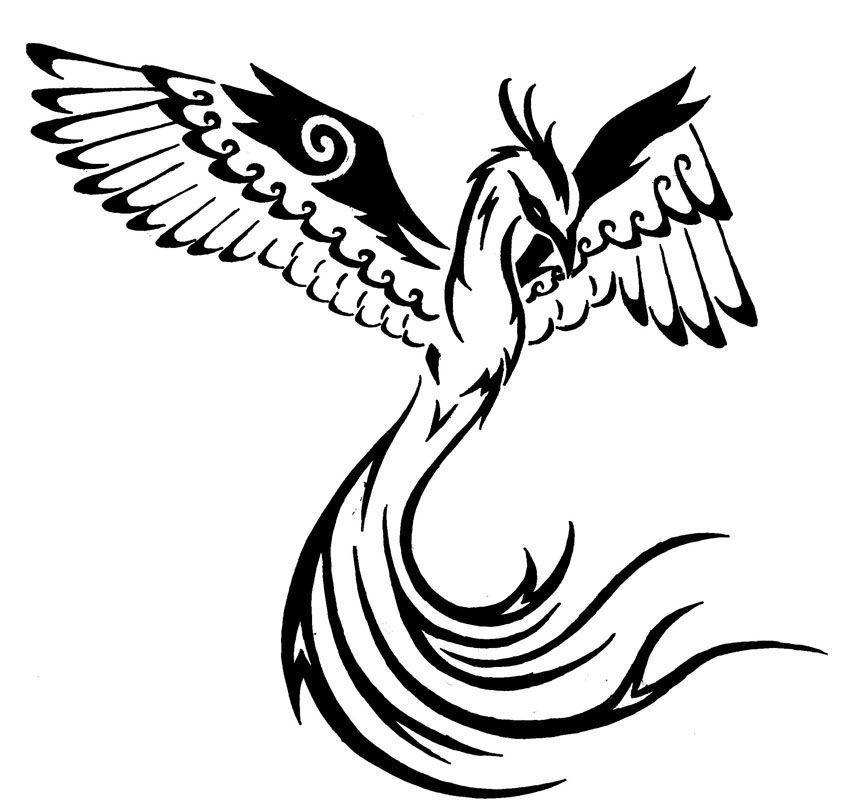 tattoo tribal katze Tribal phoenix