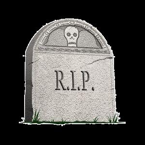 Tube pierre tombale r i p - Pierre tombale halloween ...