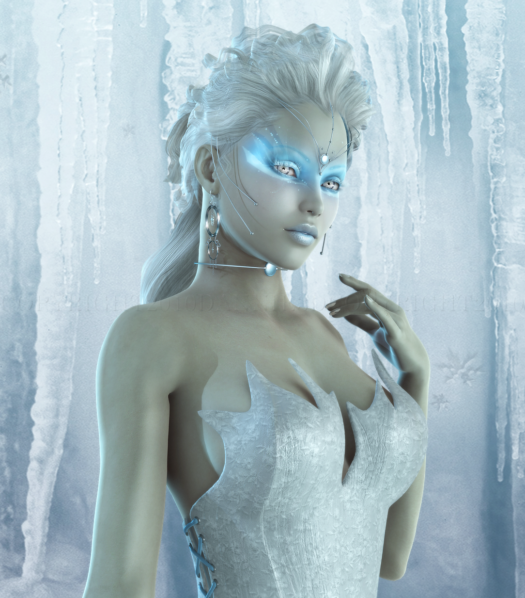 Sexe avec de la glace
