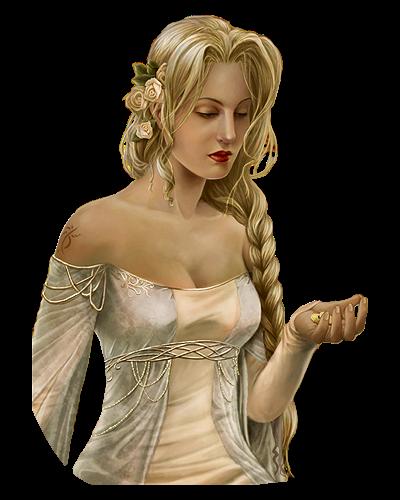 TUBE femme blonde